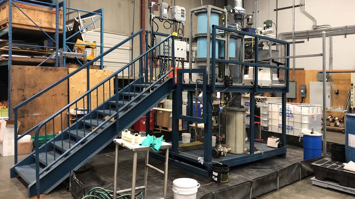 American Manganese Inc. Pilot Plant Optimization Tests Increase Recycling Process Capacity
