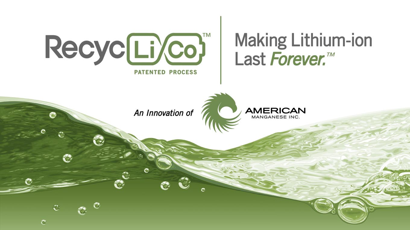 Introducing the RecycLiCo™ Patented Process – An Innovation of American Manganese Inc.