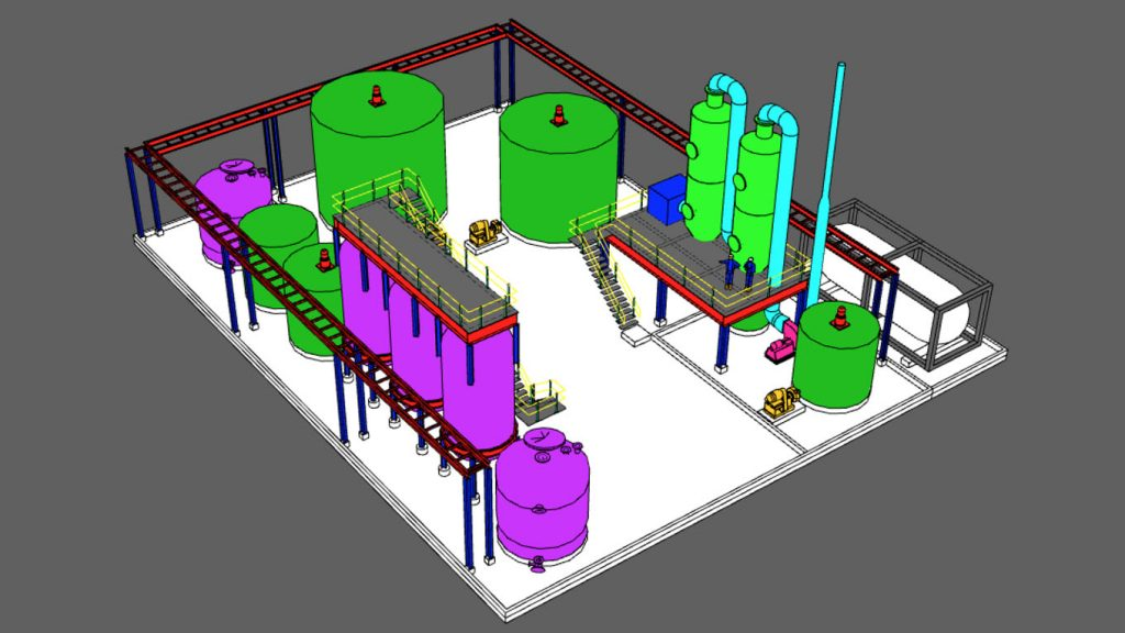 American Manganese Inc. Announces Conceptual Commercial Recycling Plant Layout for Lithium-ion Battery Cathode Material
