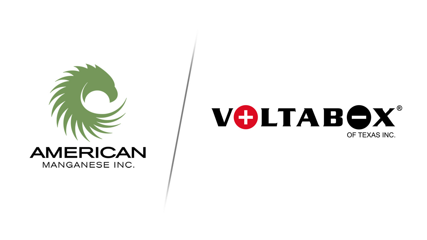 American Manganese Inc. Signs Memorandum of Understanding with Voltabox of Texas Inc.
