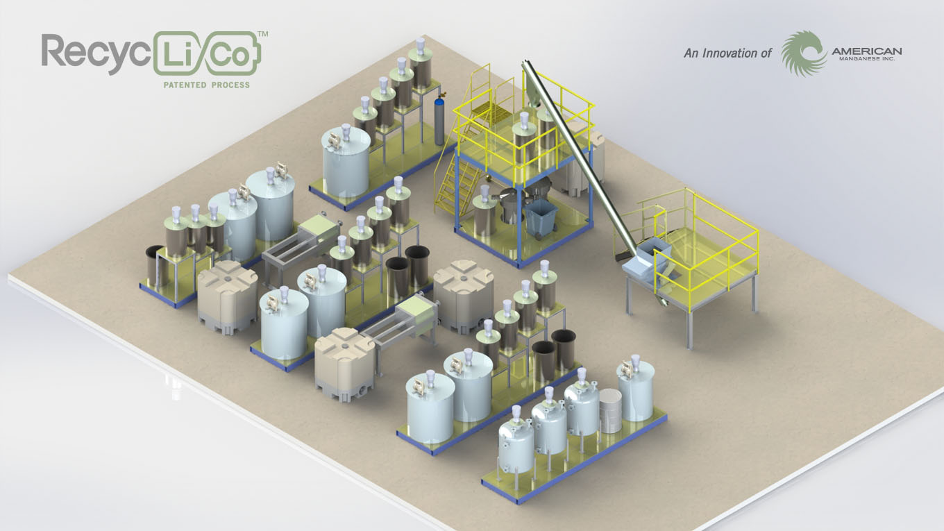 American Manganese Provides Update on RecycLiCo™ Demonstration Plant